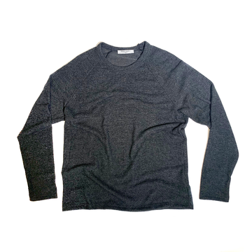 The Baker Raglan - Charcoal