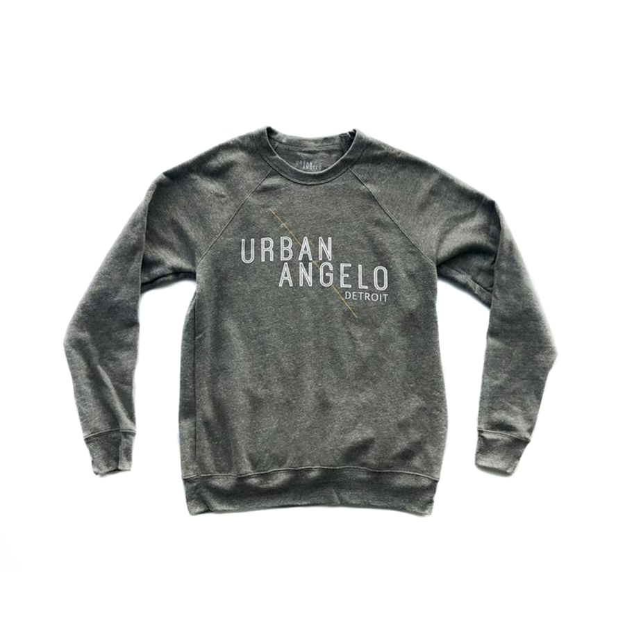 Urban Angelo Logo Pullover - Grey