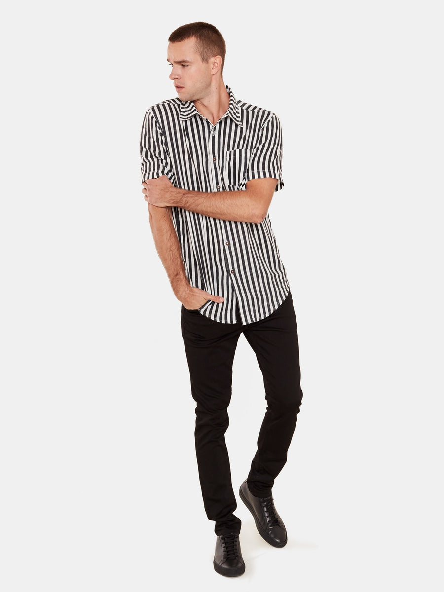 Stevie Shirt - Malibu Stripe