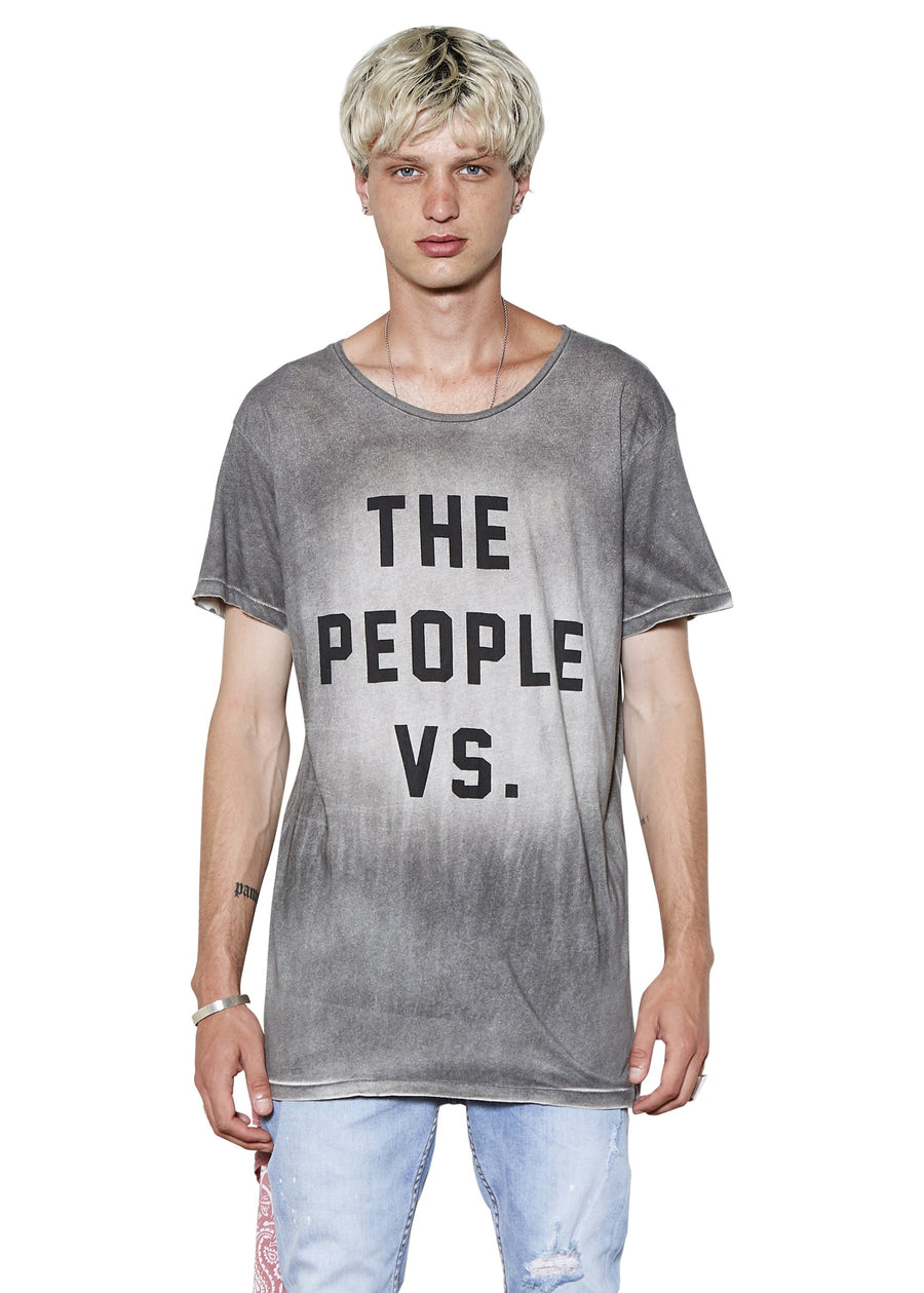 People Vs. Logo Spray Tee