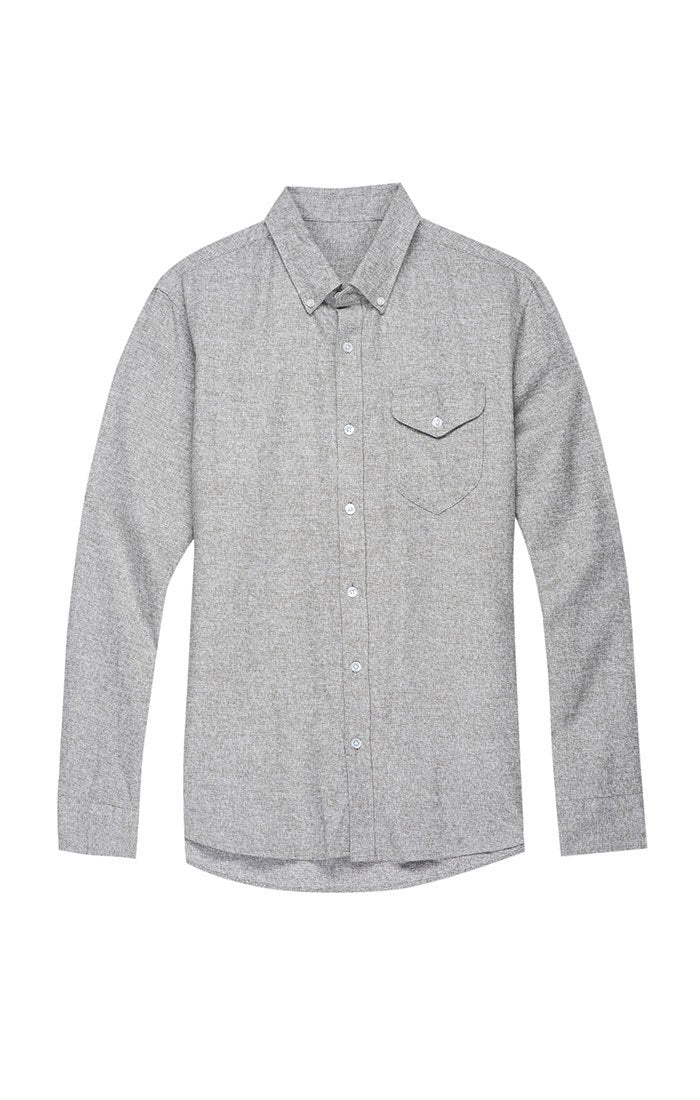 Jaspe Brushed Flannel Shirt