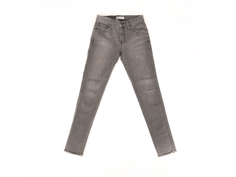 J Twiggy Ankle Jean - Grey