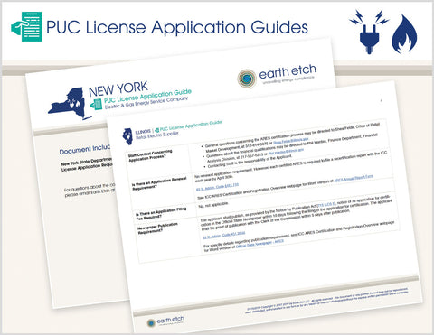 PUC License Application Guides