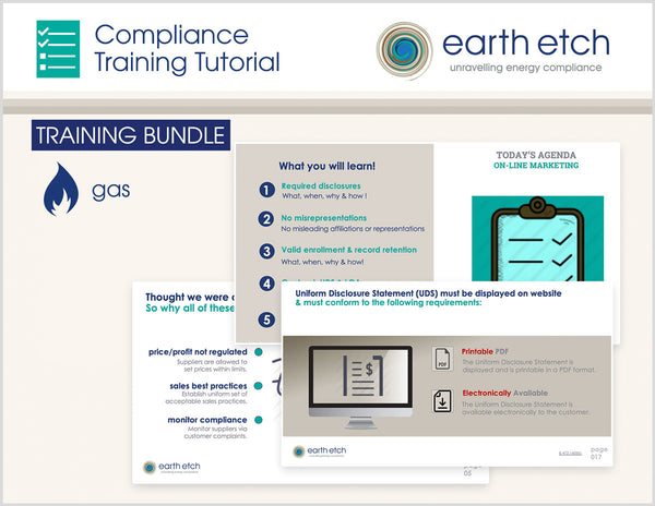 Ohio Compliance Training Tutorial BUNDLE (Gas)