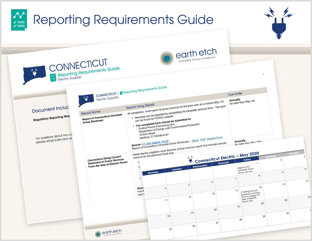 Connecticut Reporting Requirements Guide (Electric)