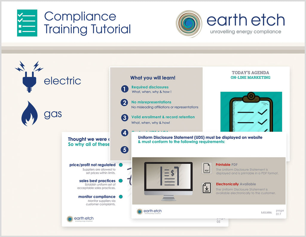 New Jersey Complaints – § 14:4-7.9 - Compliance Training Tutorial (Electric & Gas)