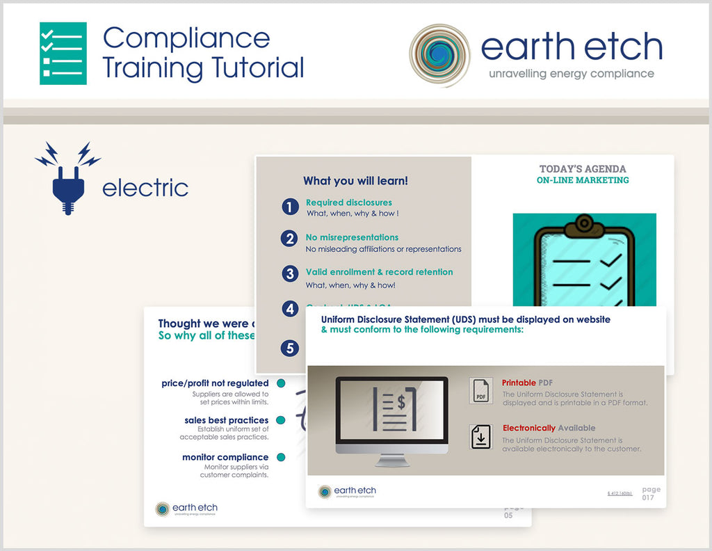 Ohio Customer Information – 4901:1-21-10 - Compliance Training Tutorial (Electric)