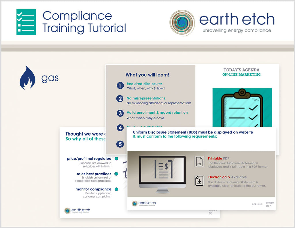 Ohio Customer Information – 4901:1-29-10 – Compliance Training Tutorial (Gas)