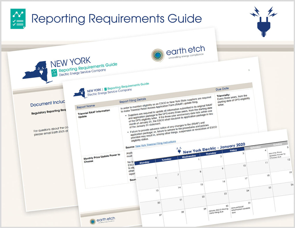 New York Reporting Requirements Guide (Electric)