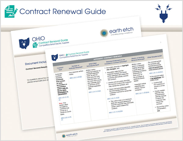 Ohio Contract Renewal Guide (Electric)