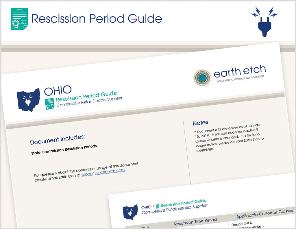 Ohio Rescission Period Guide (Electric)