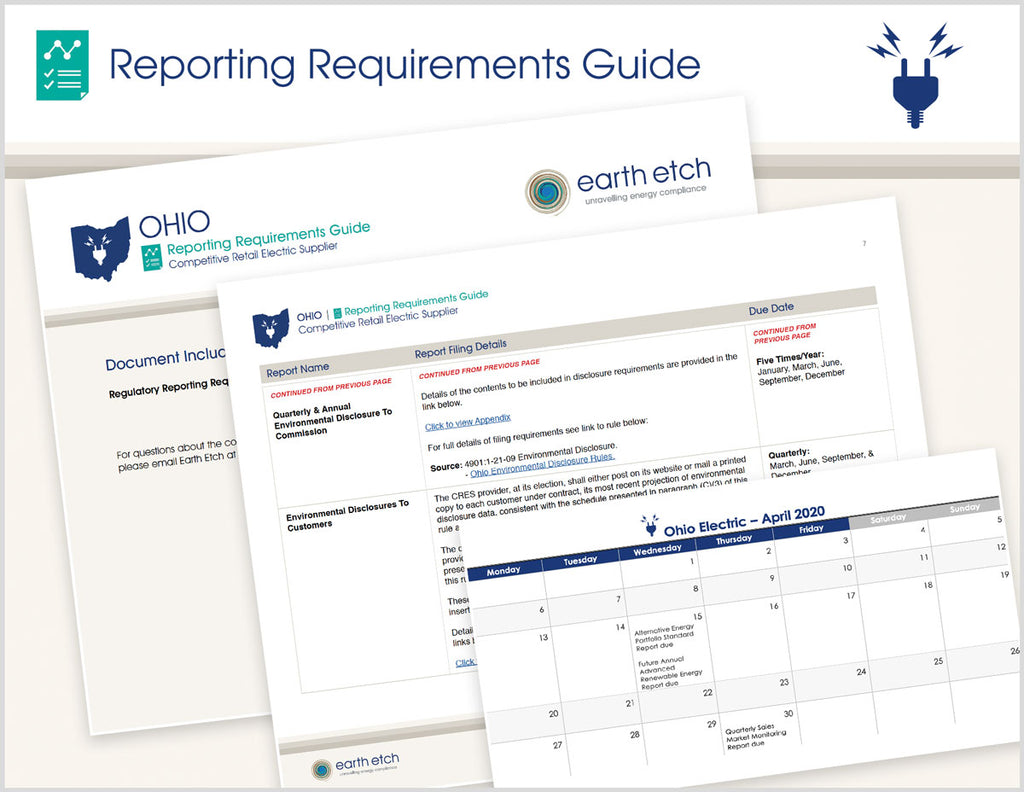 Ohio Reporting Requirements Guide (Electric)