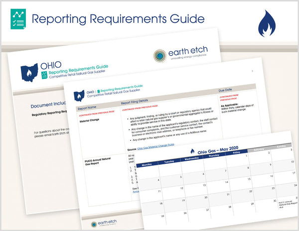 Ohio Reporting Requirements Guide (Gas)