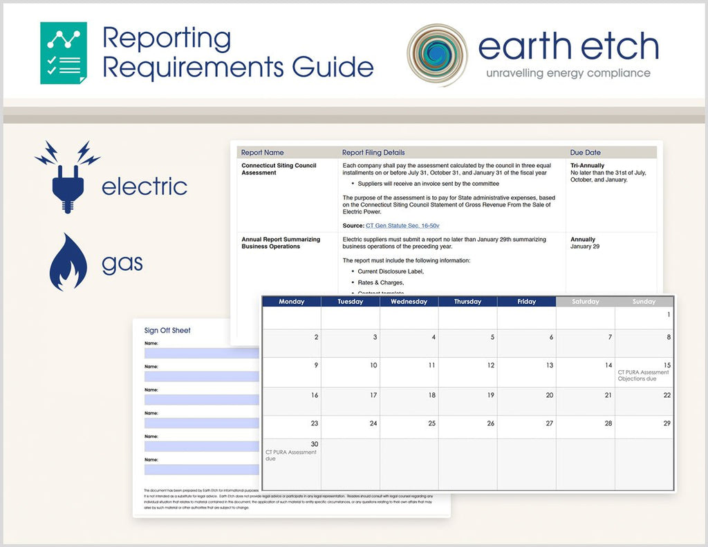 New York Reporting Requirements Guide (Electric & Gas)