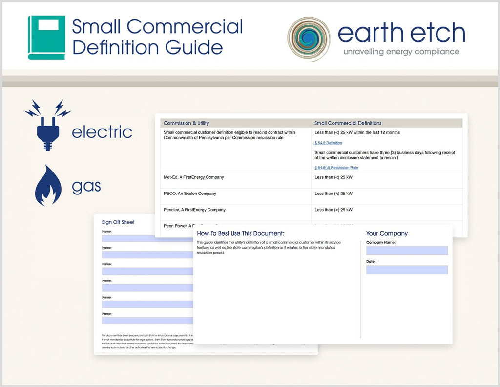 New Jersey Small Commercial Definition Guide (Electric & Gas)