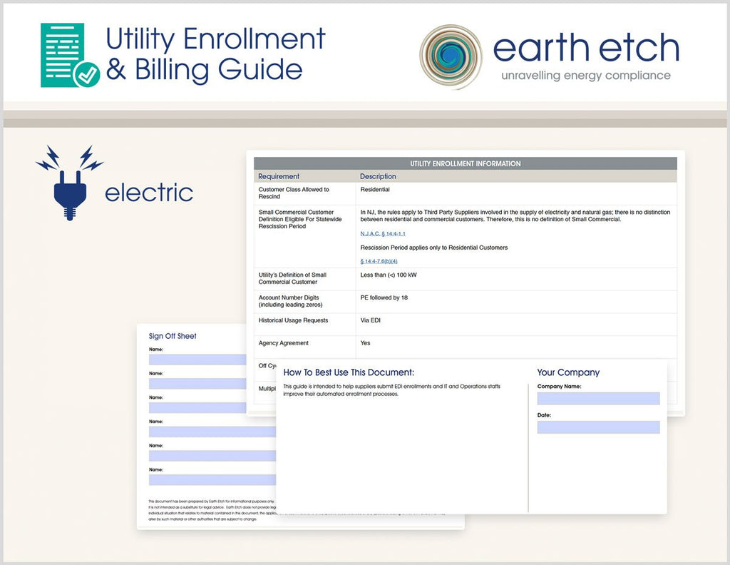 New Jersey Utility Enrollment & Billing Guide: Public Service Electric & Gas (Electric)