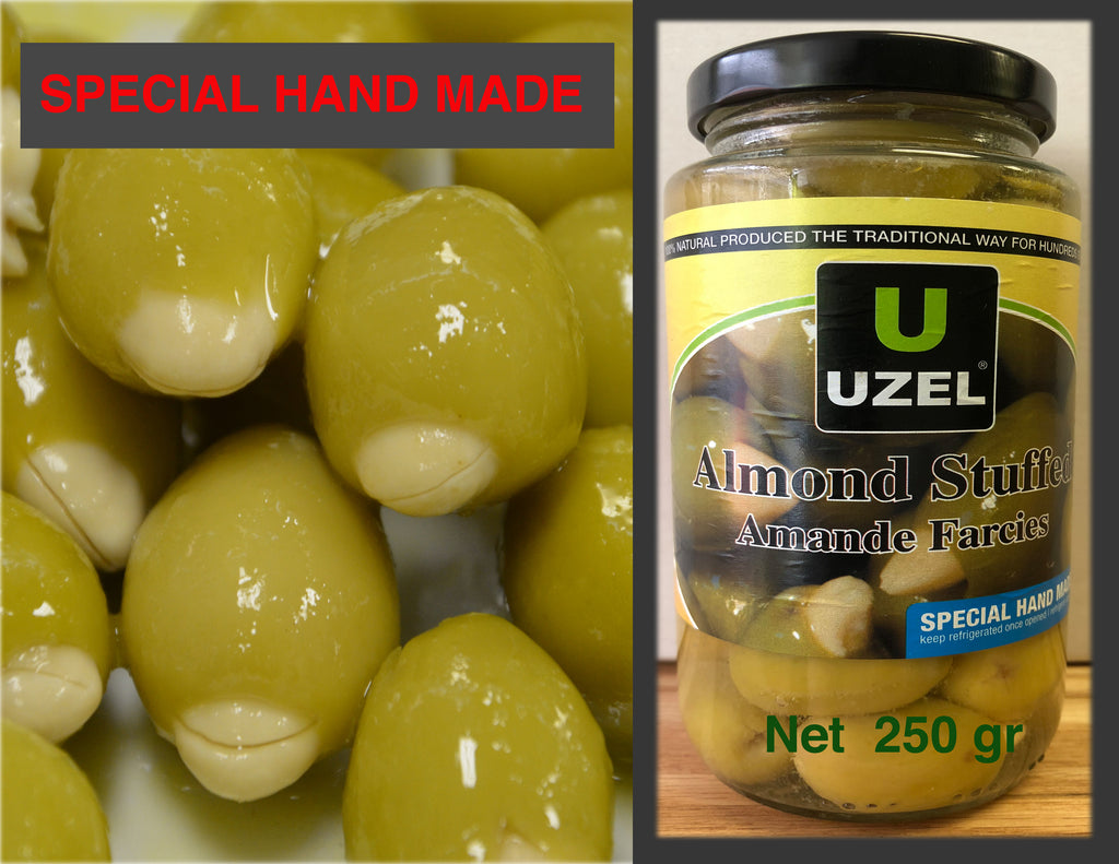 Almond Stuffed Olives (Net - 250 grams)