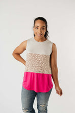 Hot Block Sleeveless Top