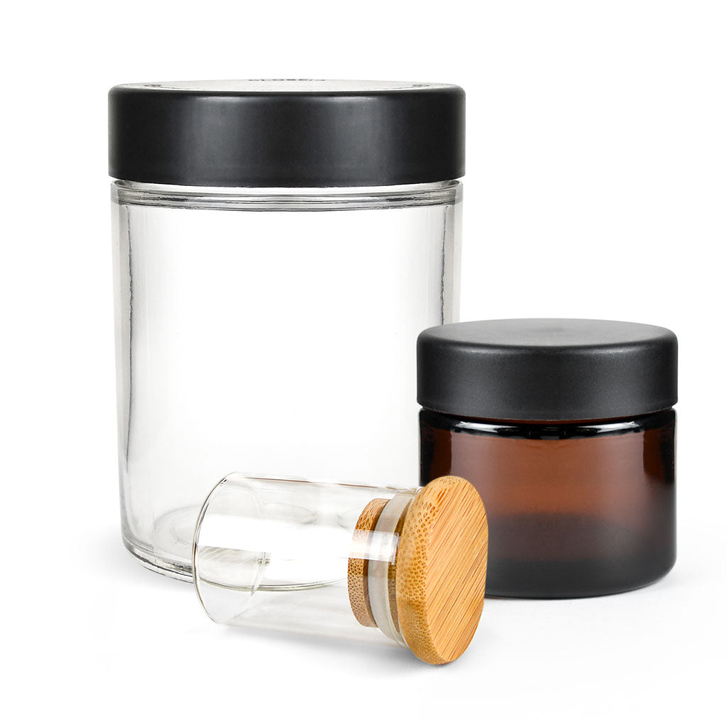 Glass Jars - Standard & Child Resistant
