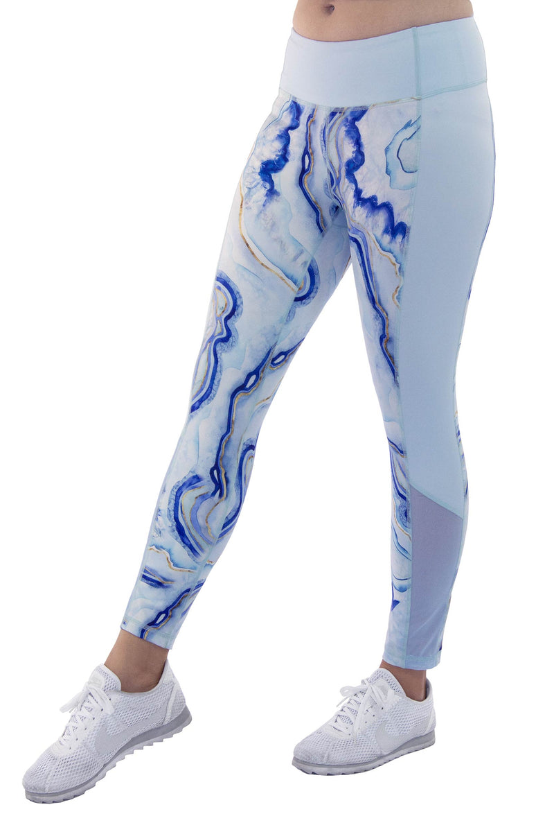 Geode Women's Capri Leggings L-6004-GEODE