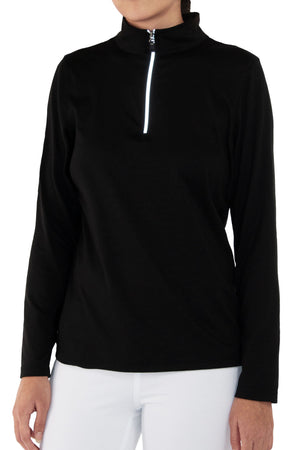 Focus Quarter-Zip Top
