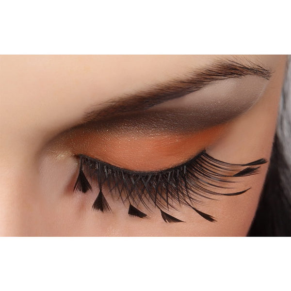 DECORATED FEATHER EYELASHES 62F/ PESTAÑAS POSTIZAS INGLOT