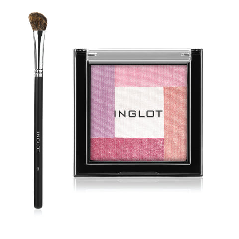Amc Multicolour System Highlighting Powder FEB 90 + Brush 7FS INGLOT