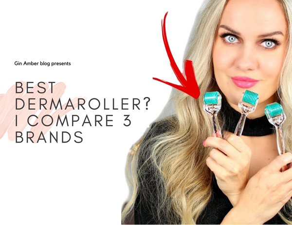 Best Dermaroller on the Market? I Compare 3 Brands for the Final Test