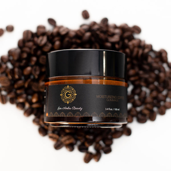 3.4 ounce jar of Cafe Gommage Mask, exfoliation - skincare - skin care - beauty