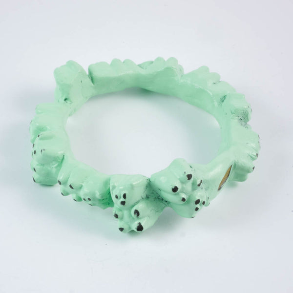 Mint Chocolate Chip Gummy Bears bangle