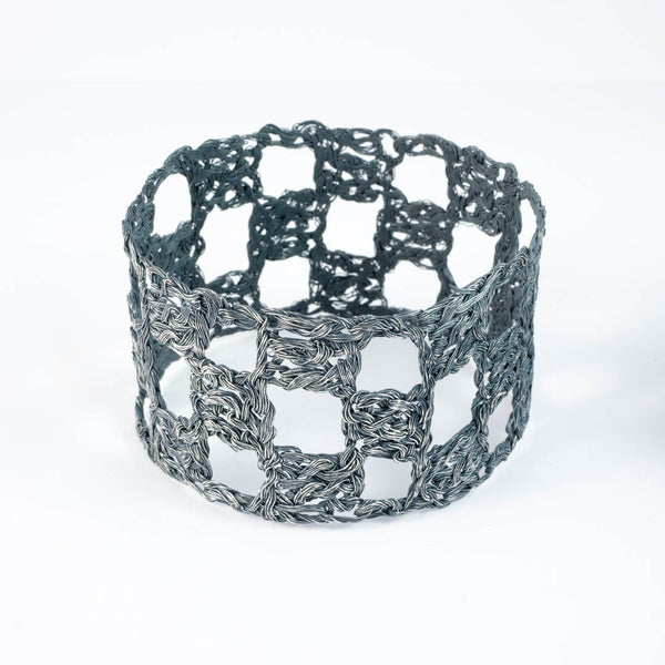 Crochet squares bangle PG850