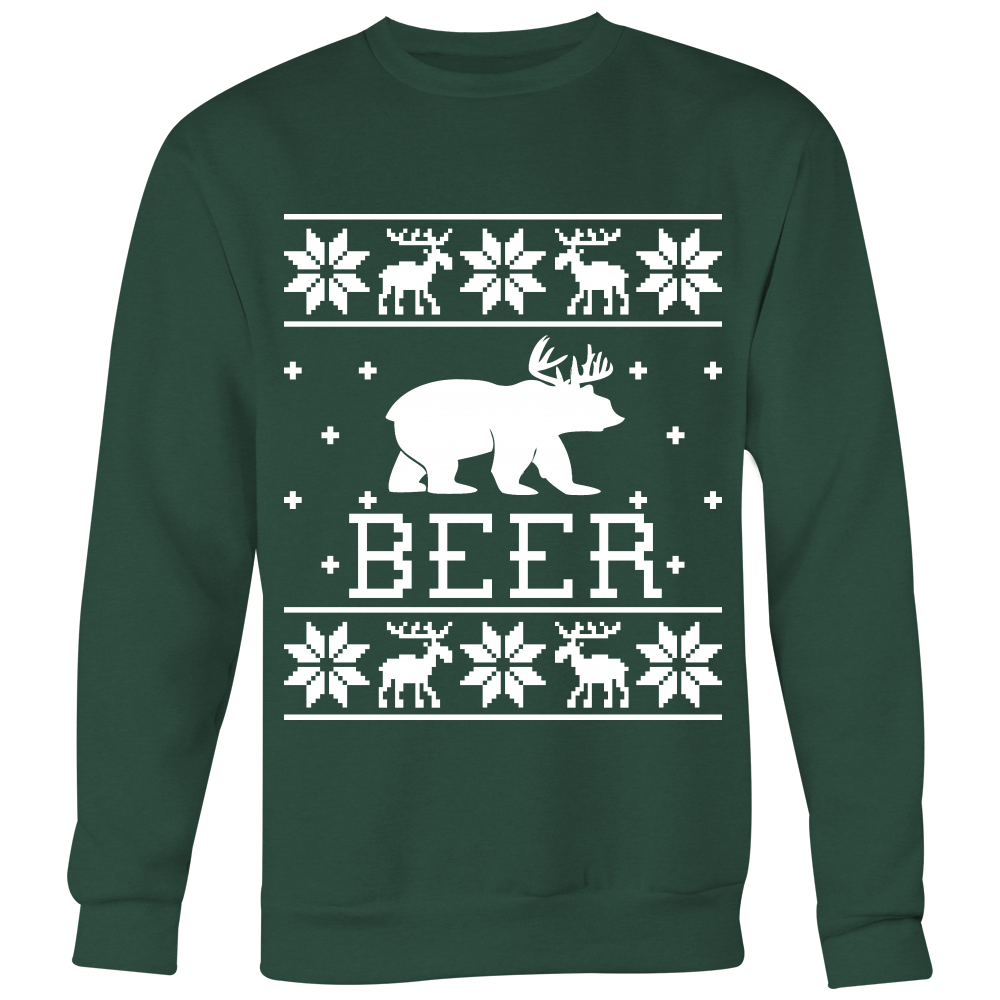 Beer - Unisex Ugly Christmas Sweatshirt