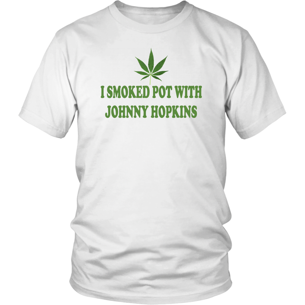 I Smoked Pot With Johnny Hopkins - Stepbrothers Quote - Unisex T-Shirt