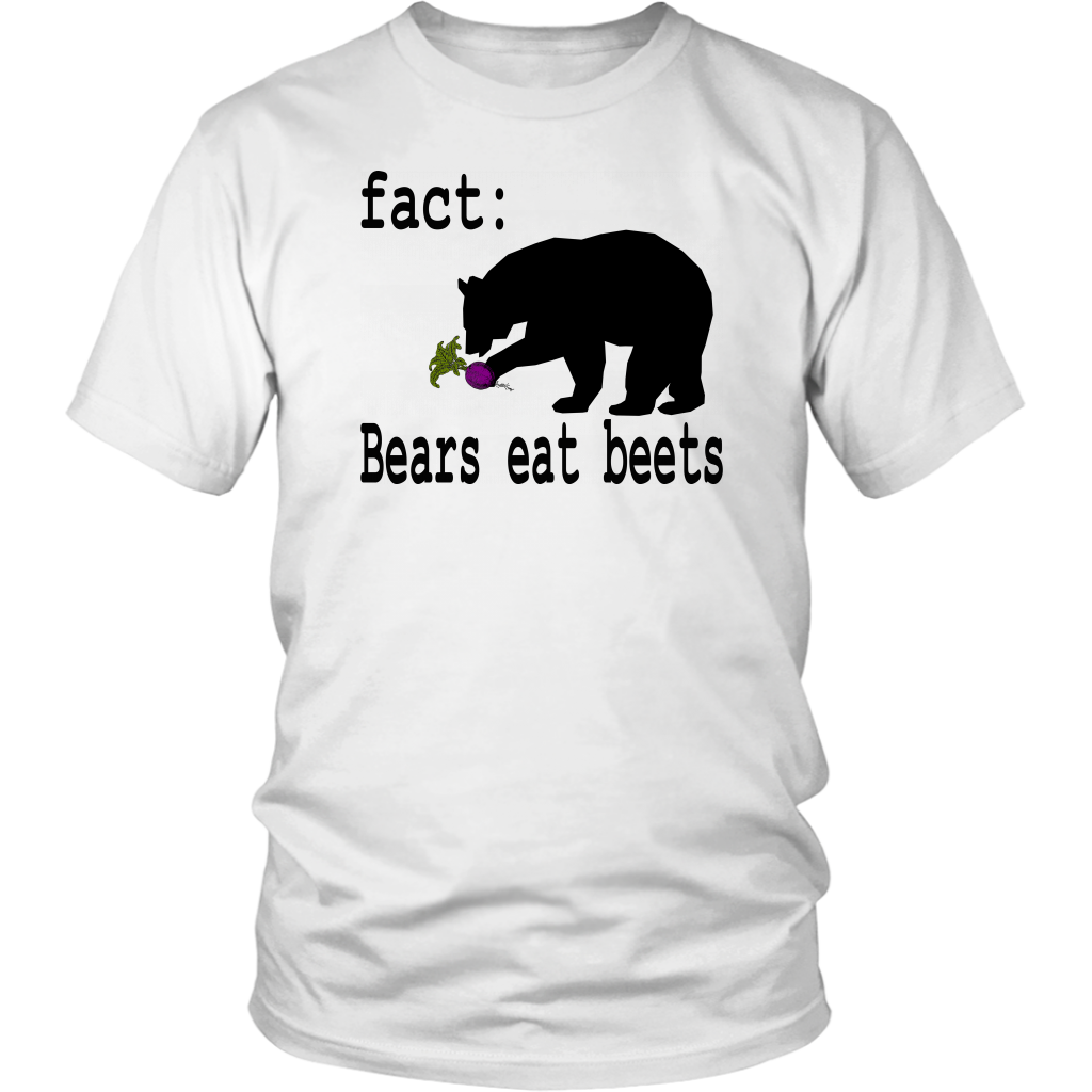 Fact: Bears Eat Beets - The Office - Unisex T-Shirt