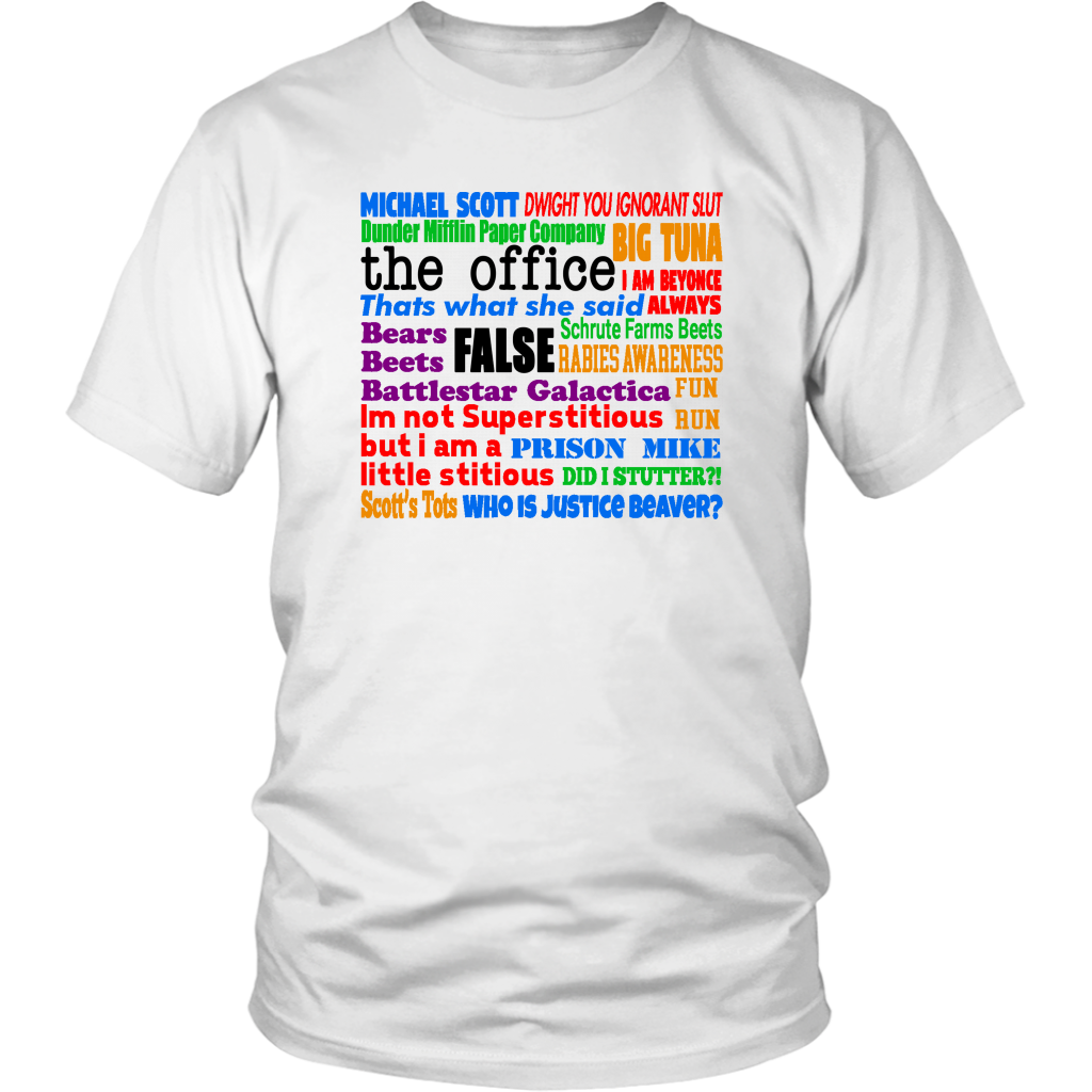 The Office Quotes - Unisex T-Shirt