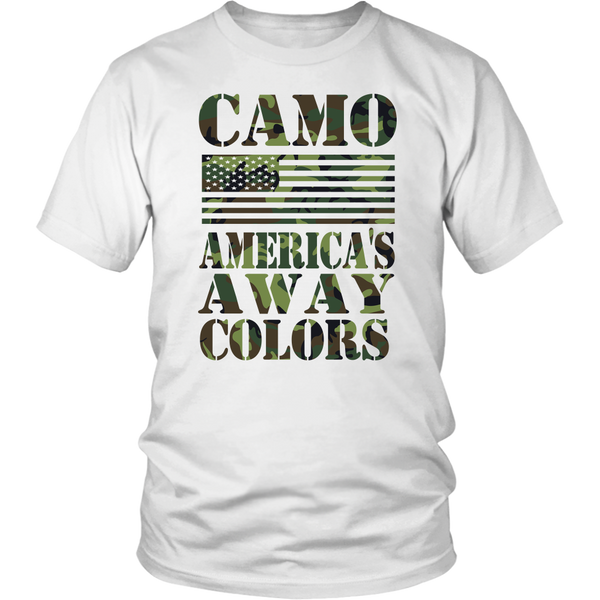 Camo America's Away Colors - Unisex T-Shirt