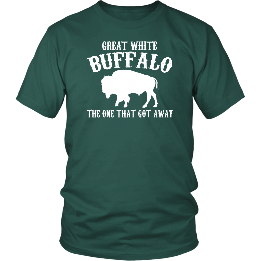 Great White Buffalow - The One That Got Away - Unisex T-Shirt