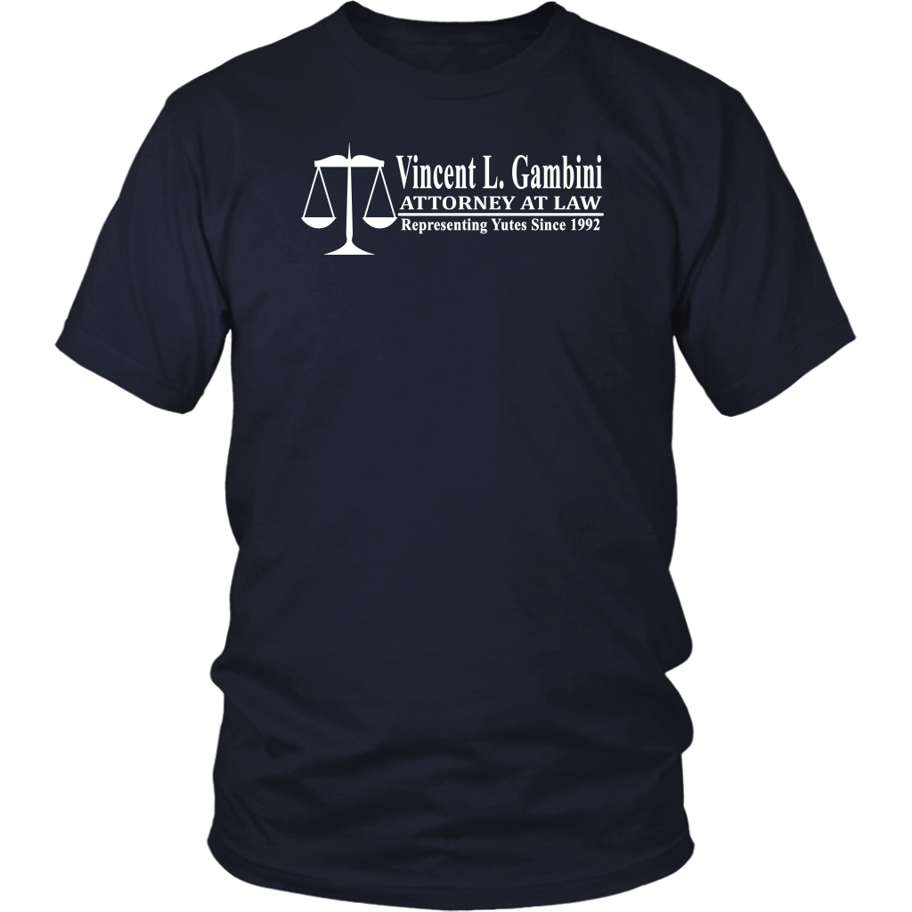 My Cousin Vinny Shirt - Vincent L Gambini Attorney At Law