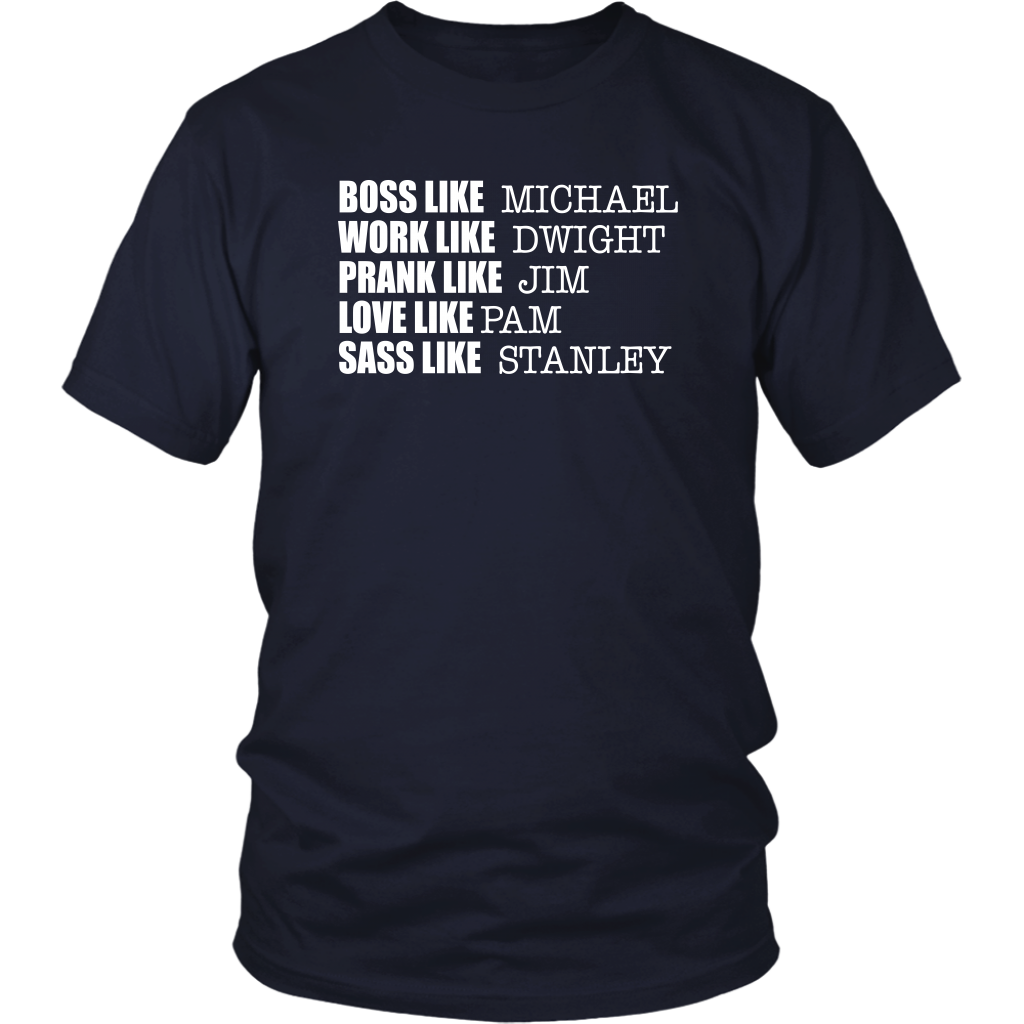 Boss Like Michael....The Office - Unisex T-Shirt