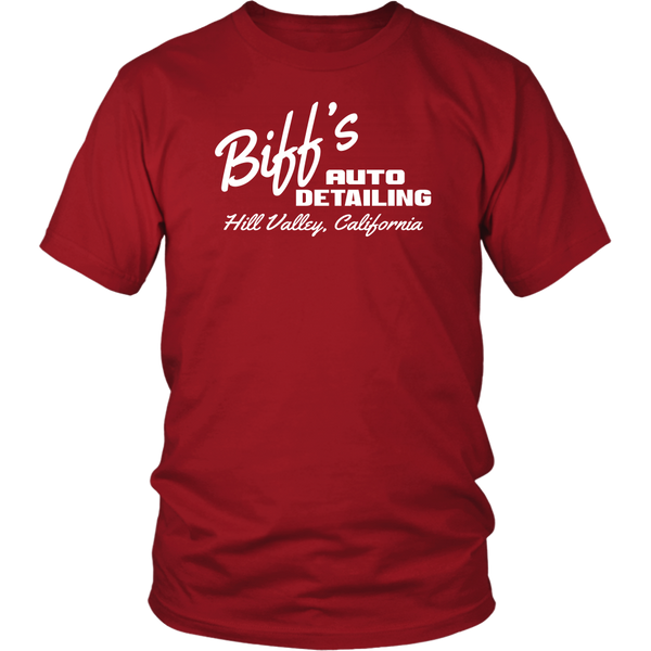 Biff's Auto Detailing - Unisex T-Shirt - Back To The Future