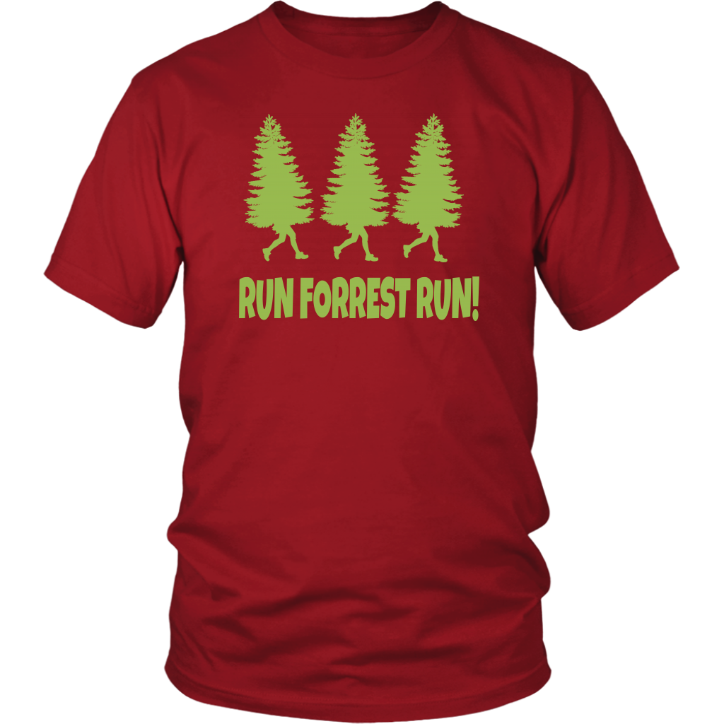 Run Forrest Run! Forrest Gump Quote - Unisex T-Shirt