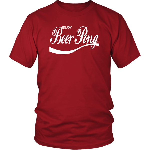 Enjoy Beer Pong - Unisex T-Shirt