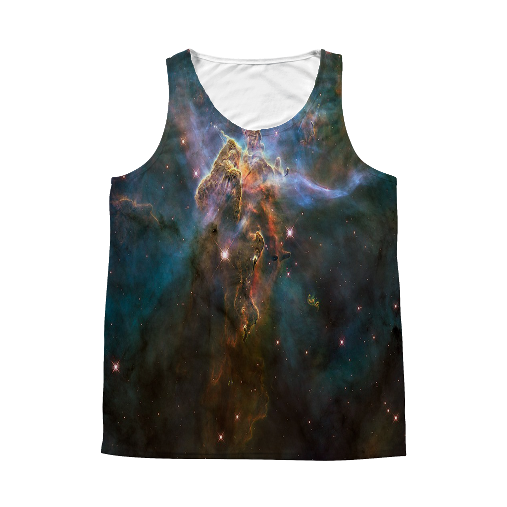 Eagle Nebula Unisex Tank Top