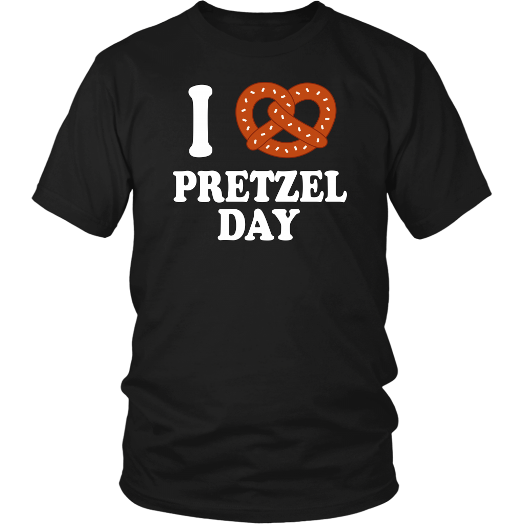 I Love Pretzel Day - Unisex T-Shirt