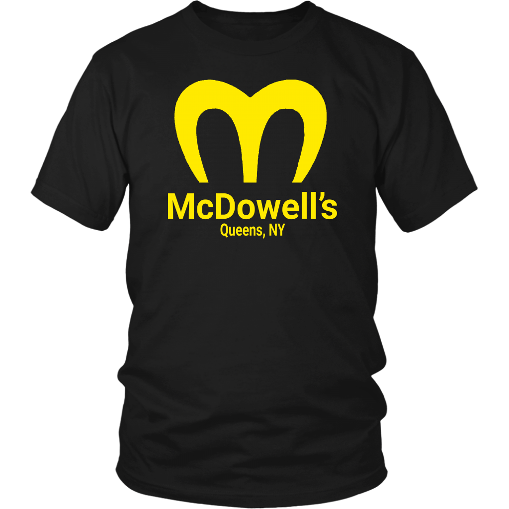 McDowell's - Unisex T-Shirt - Coming To America