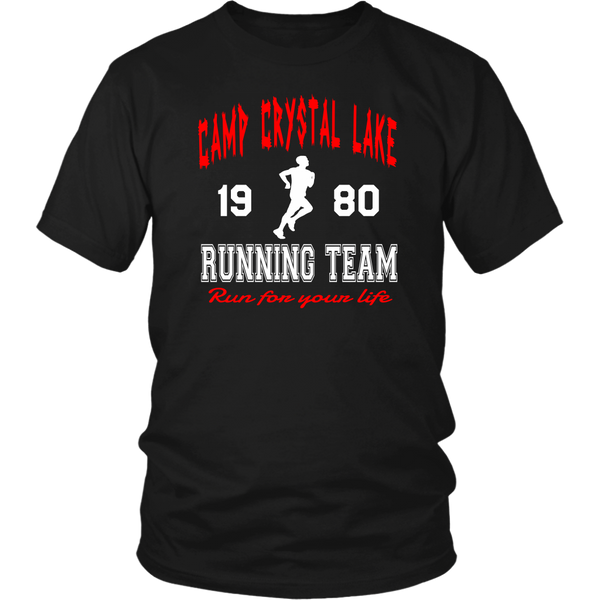 Camp Crystal Lake Running Team - Unisex T-Shirt - Friday The 13th