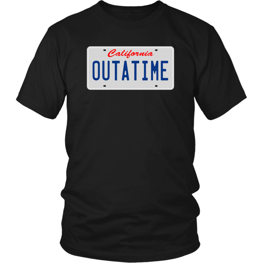 Outatime - Back To The Future - Unisex T-Shirt