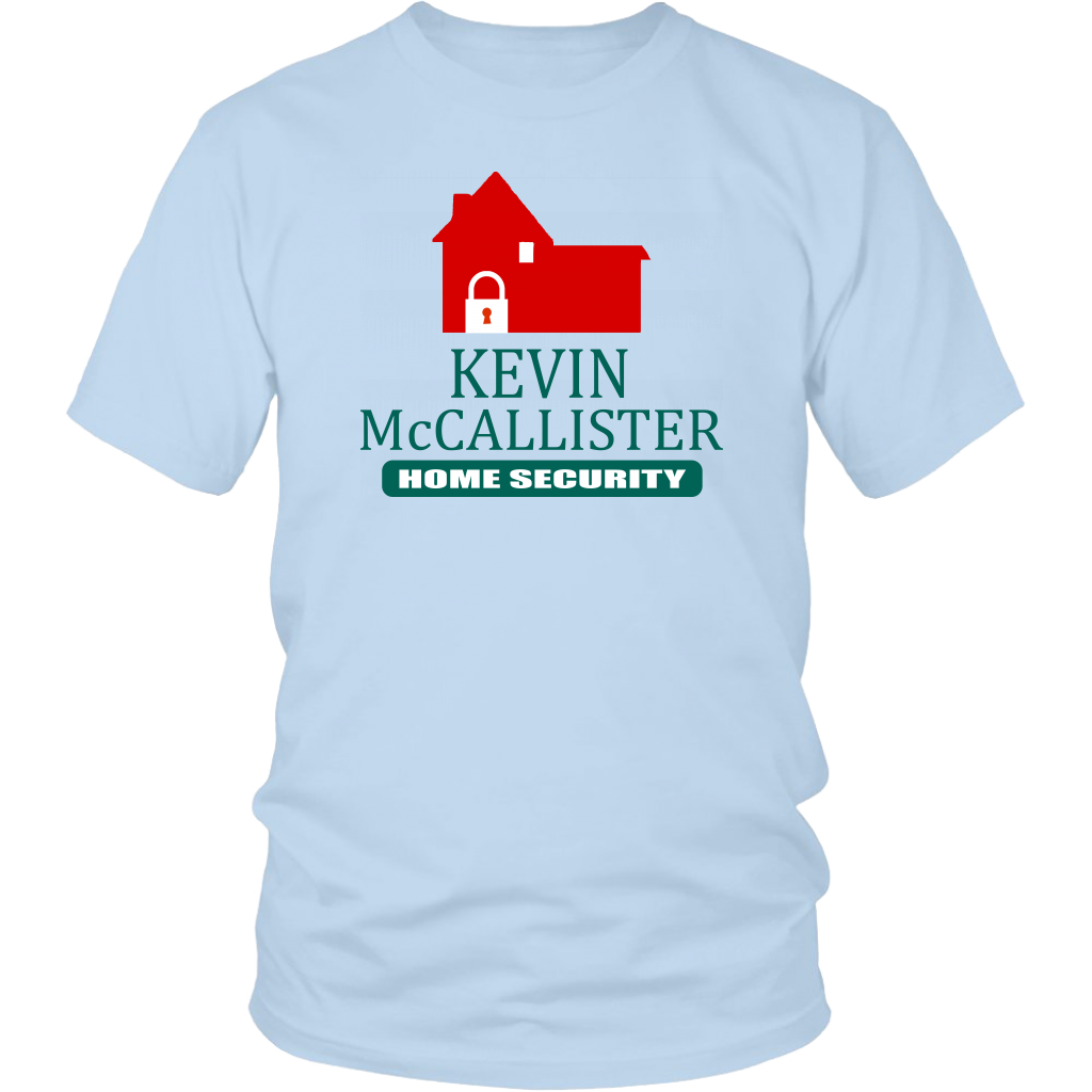 Kevin McCallister Home Security - Unisex T-Shirt - Home Alone