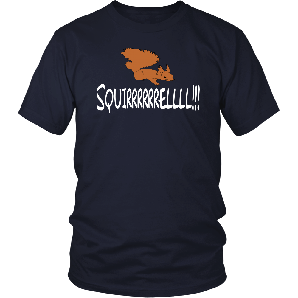 Squirrel! Unisex T-Shirt - Christmas Vacation Quote
