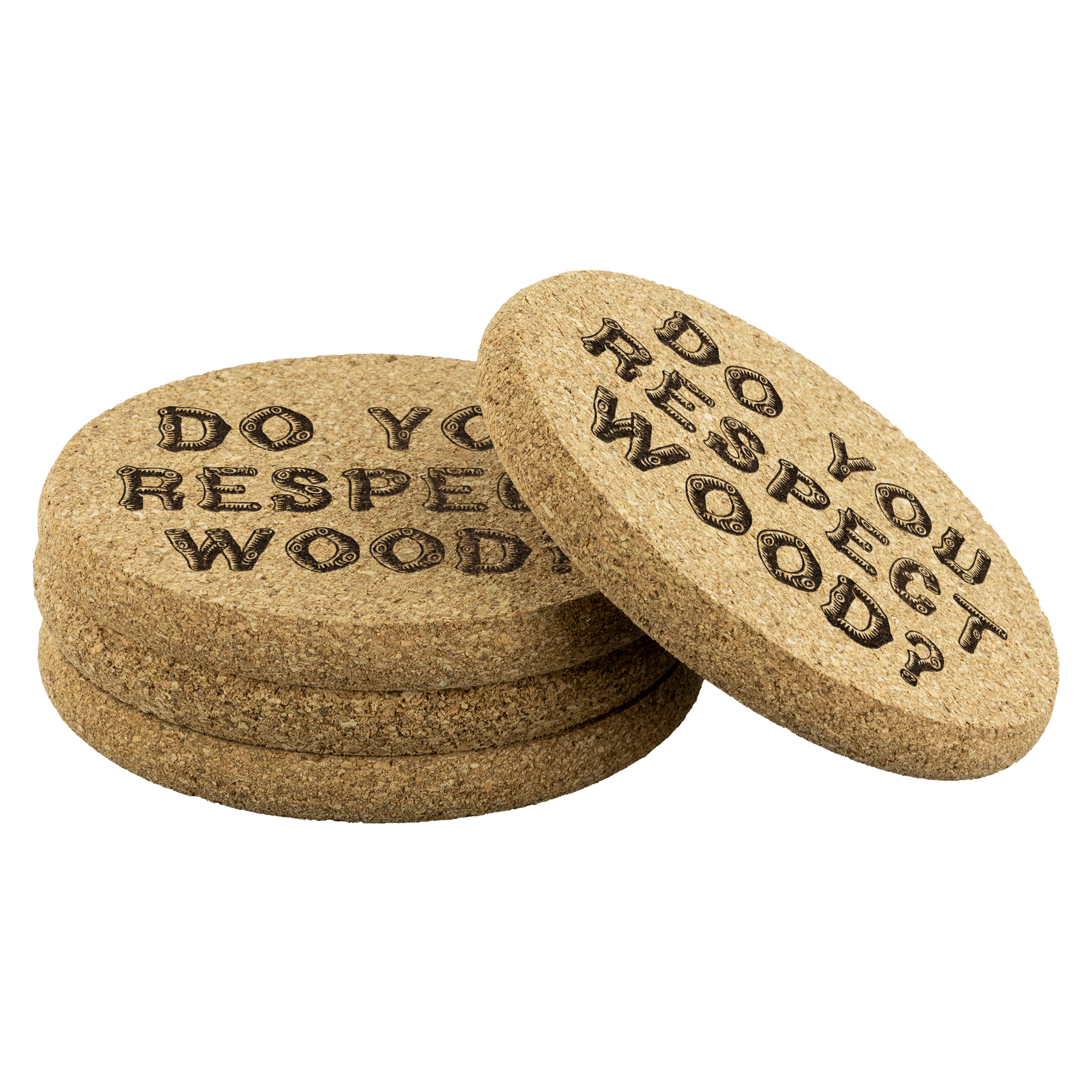 Do You Respect Wood? Larry David Coasters (4)